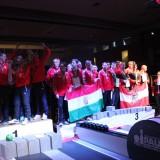 Ernyesi világbajnok, a magyar csapat harmadik