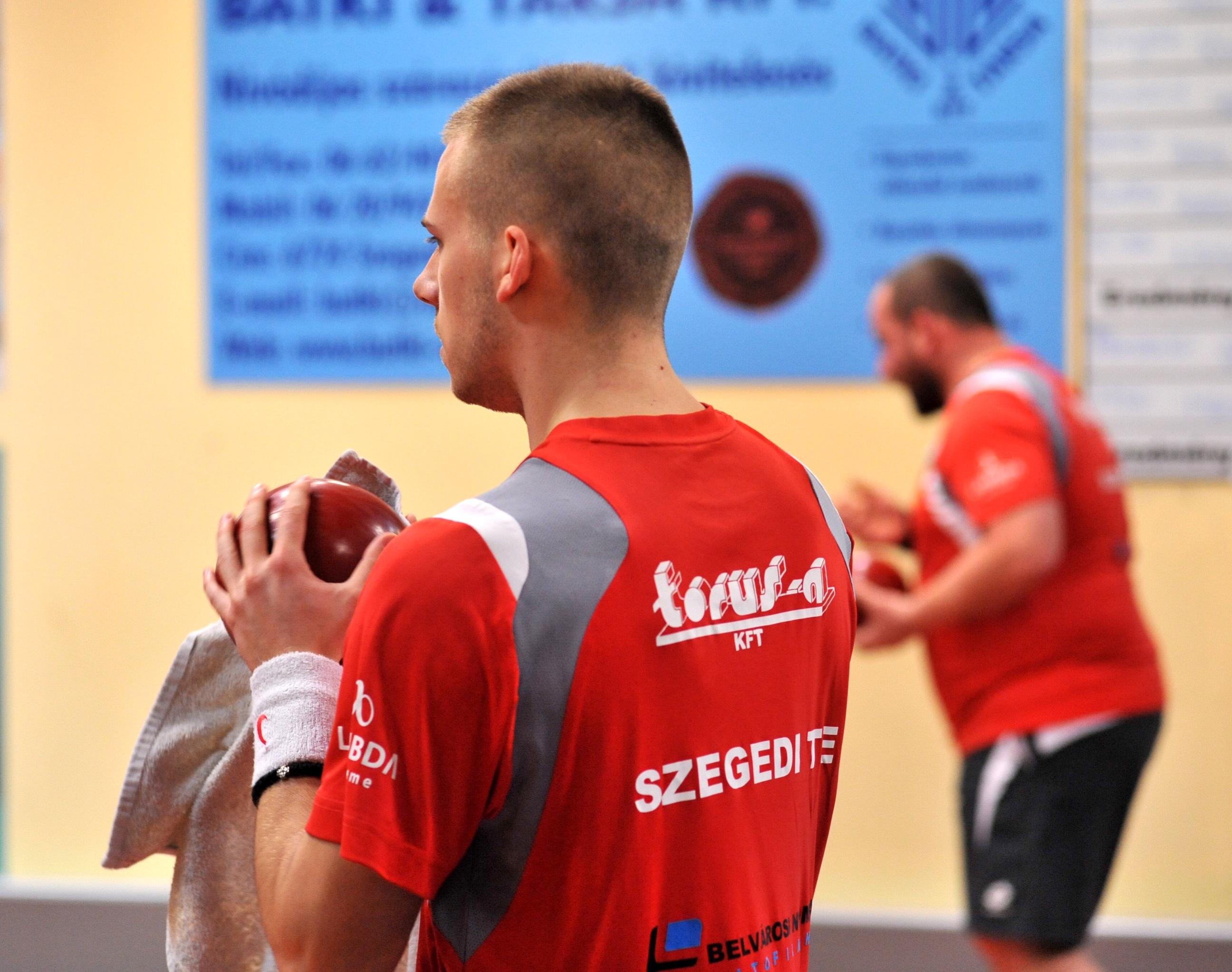 Szeged – szuperliga Szegedi TE- Pét teke mérkőzés.Fotó: Karnok Csaba
